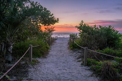 Sanibel Beach Path