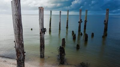 Derelict Pier-East Cape Sable, ENP