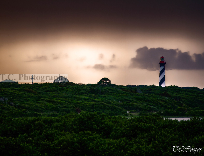 St Augustine Lighthouse and Cross