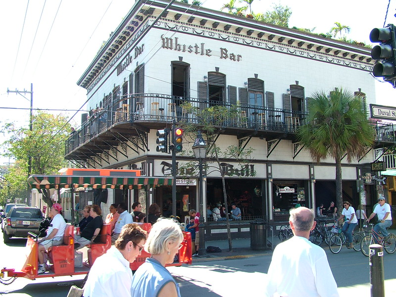 Whistle Bar ~ Duval St ~ Key West