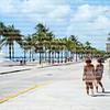 Tourist enjoying Fort Lauderdale Beach
