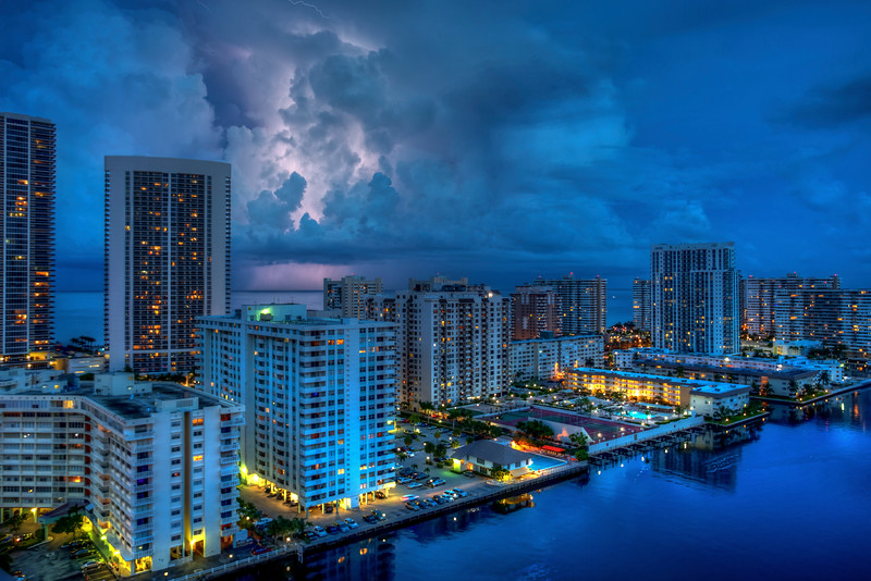 In the Clouds, Hallandale Beach