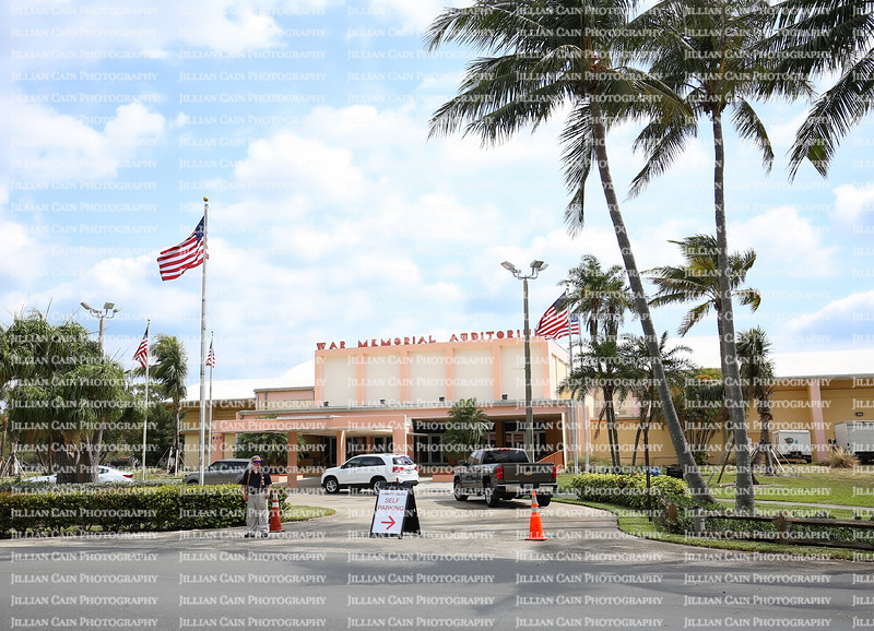 EDITORIAL USE ONLY:   War Memorial Auditorium, owned and operated by the City of Fort Lauderdale. Located in Holiday Park,  a popular venue to have events.