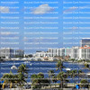 Fort Lauderdale waterfront skyline looking north towards Sunrise Boulevard.