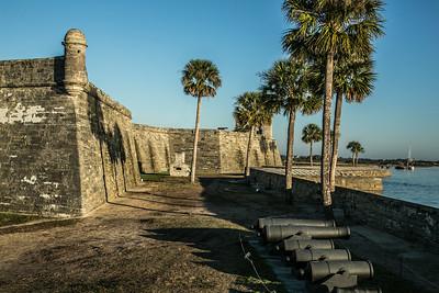 Castillo de San Marcos with Hotshot Furnace