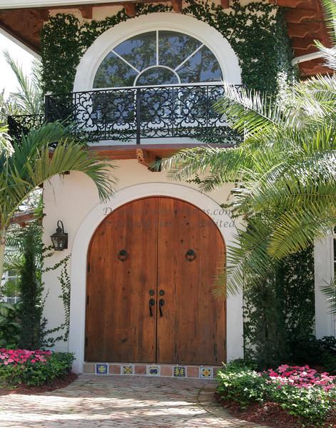 Great Door, Old Floresta, Boca Raton, Florida