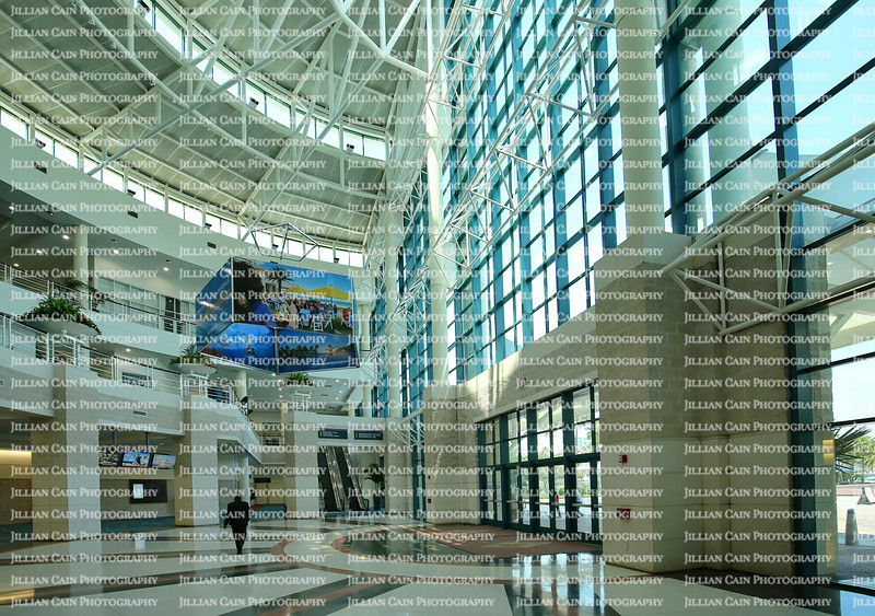 Inside the ground floor of the Greater Fort Lauderdale Broward County Convention Center,