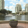 The view of the New River from Riverwalk, downtown Fort Lauderdale