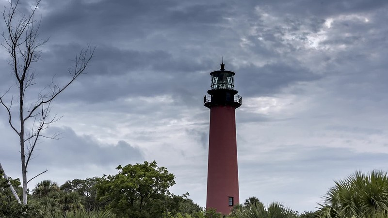 Jupiter Lighthouse timelapse