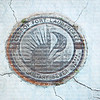 EDITORIAL USE ONLY:   City of Fort Lauderdale iron sewer man hole cover made by U.S. Foundry.
