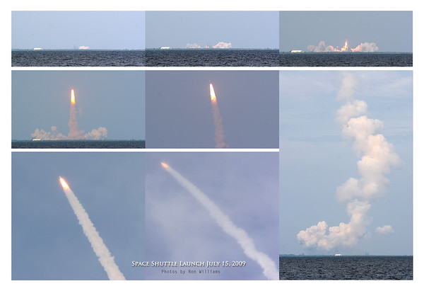 2009 Space Shuttle Launch - Photos by Ron Williams