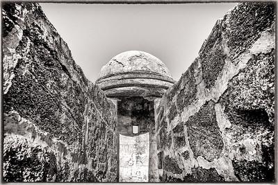 """Castillo de San Marcos """"La Garita"""""""