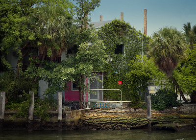 Derelict Building on the Miami River