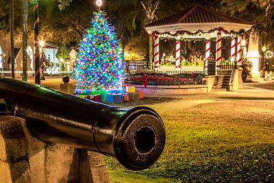 St. Augustine Main Square at the Holidays