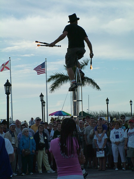 Street Performer ~ Key West
