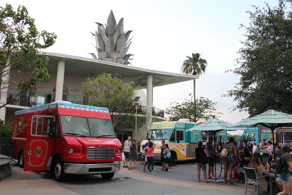 Food trucks at Disney Springs