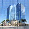 """EDITORIAL USE ONLY:    Broward County Public Schools downtown headquarters, the Kathleen C. Wright School Board Building also known as """"The Crystal Palace""""."""