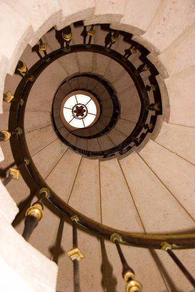 Viscaya Estate Spiral Staircase, Miami, FL