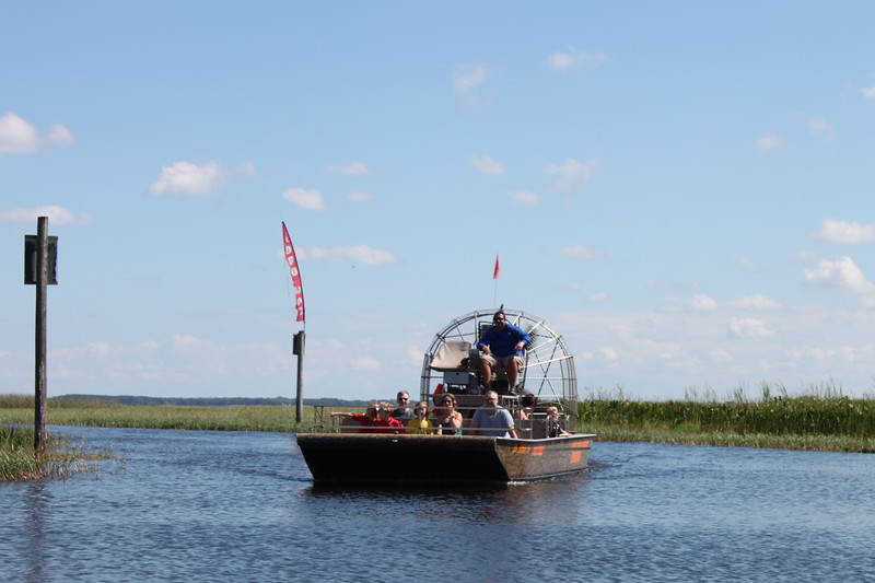Airboat in Kissimmee, Florida