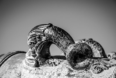 Castillo de San Marcos Canon Handle