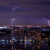Lightning Over Golden isles Lake, Hallandale
