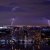 Lightning Over Golden isles Lake, Hallandale