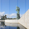 MIAMI BEACH, FLORIDA, USA:  Holocaust Memorial in Miami Beach, created by sculpture Kenneth Treister, as seen on February 6, 2020.