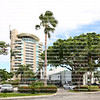 Iconic Hyatt Regency's Pier 66 Waterfront Hotel and Marina located close to the 17th Street Bridge and Port Everglades.