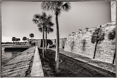 """Castillo de San Marcos """"On the Waterway"""""""