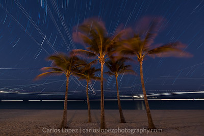 5 Sisters + Star Trails