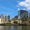Condos, hotels and timeshares located between the intracoastal and Fort Lauderdale Beach on A1A.