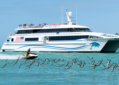 Coming Into Port, Key West, Florida  -80237