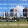 Downtown Fort Lauderdale skyline as seen from Florence C. Hardy Public Park.