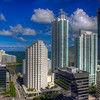 Construction Panorama Tower, Downtown Miami