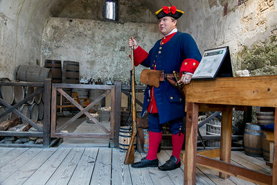 "Castillo de San Marcos ""In the Supply Room"""
