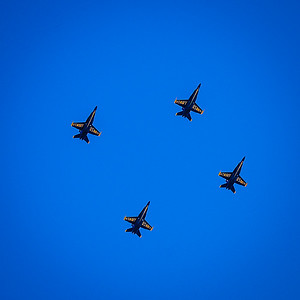 Navy Blue on Blue