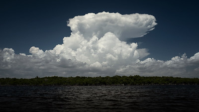 Storm building over Whitewater Bay, ENP
