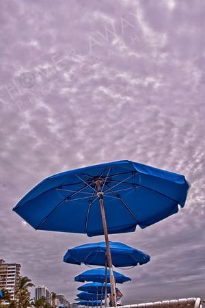 Cloudy on South Beach