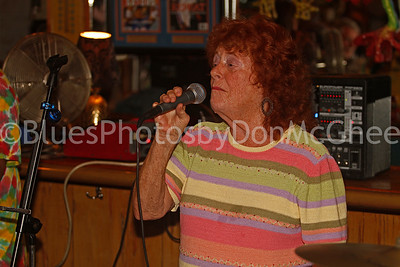vocalist at Pineapple Joe's Open Mic