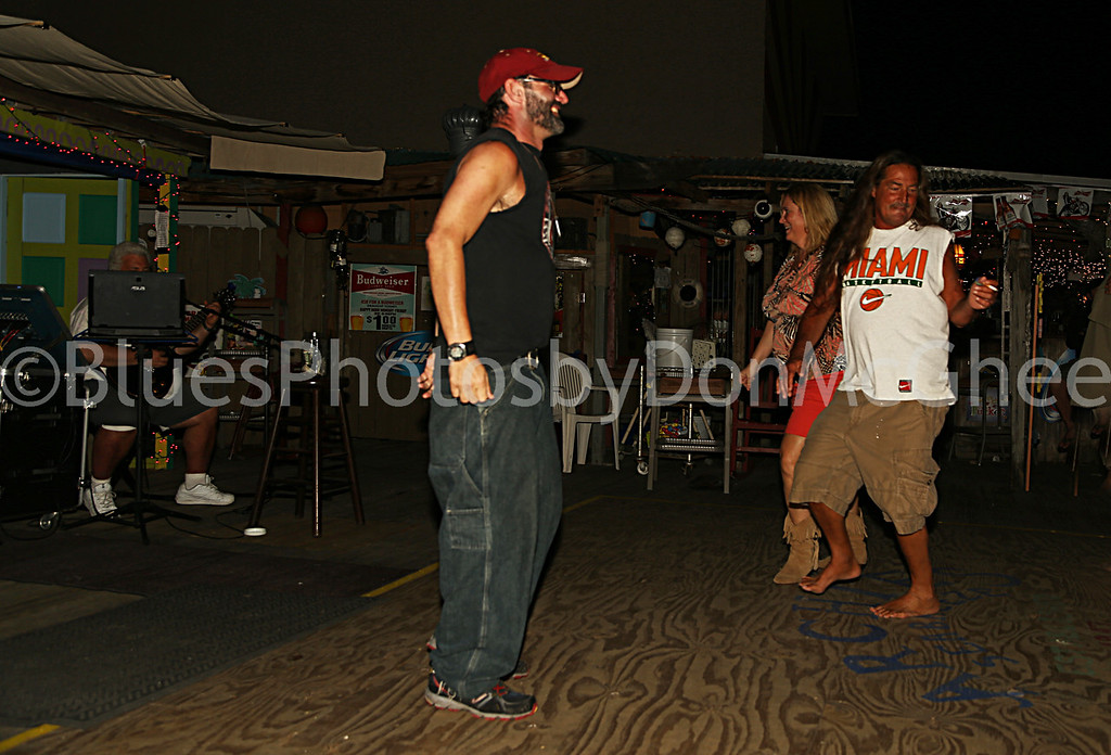 dancing the night away at Archie's Seabreeze