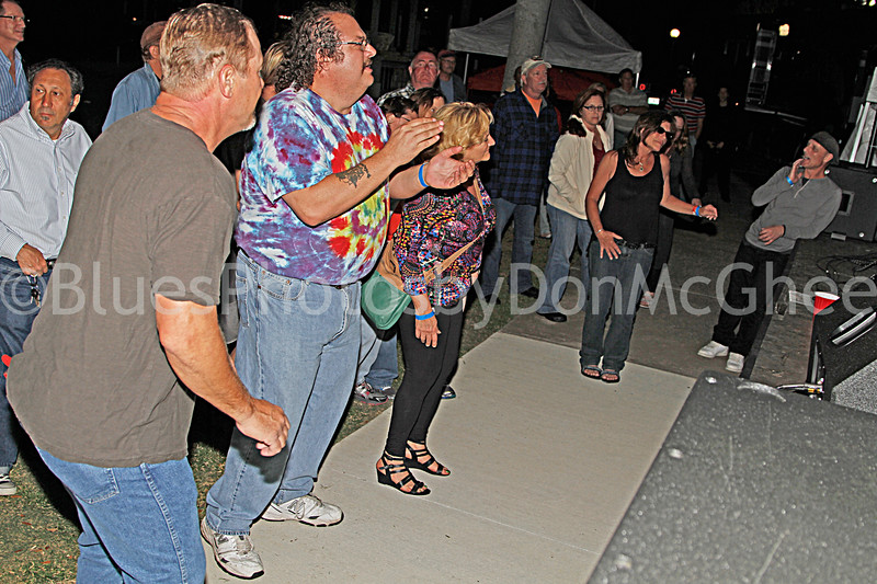 Sandi Ess & Ted Annese - still dancin . . . sort of Jensen Beach BBQ & Blues Festival