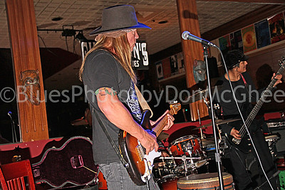 This night was a send-off for the band which was heading to Memphis for the 2011-12 International Blues Challenge.