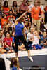 (Casey Brooke Lawson / Gator Country) UF junior Amanda Castillo showcases floor skills during the University of Florida gymnastics fan day in Gainesville, Fla., on January 4, 2009.
