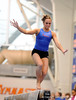 (Casey Brooke Lawson / Gator Country) UF sophomore Alicia Goodwin showcases beam skills during the University of Florida gymnastics fan day in Gainesville, Fla., on January 4, 2009.