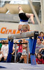 (Casey Brooke Lawson / Gator Country) UF senior Corey Hartung the University of Florida gymnastics fan day in Gainesville, Fla., on January 4, 2009.