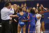 photo by Tim Casey<br /> <br /> Florida senior gymnast Ashley Reed (Davie) during the Gators' 196.850-196.825 loss to the Georgia Bulldogs on Friday, January 18, 2008 at the Stephen C. O'Connell Center in Gainesville, Fla.