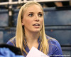 photo by Tim Casey<br /> <br /> Florida gymnastics alumna Savannah Evans during the Gators' 196.850-196.825 loss to the Georgia Bulldogs on Friday, January 18, 2008 at the Stephen C. O'Connell Center in Gainesville, Fla.