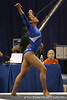 photo by Tim Casey<br /> <br /> Florida sophomore gymnast Maranda Smith (Placerville, Cali.) during the Gators' 196.850-196.825 loss to the Georgia Bulldogs on Friday, January 18, 2008 at the Stephen C. O'Connell Center in Gainesville, Fla.