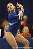 photo by Tim Casey<br /> <br /> Florida senior gymnast Nicola Willis (Hadleigh, England) during the Gators' 196.850-196.825 loss to the Georgia Bulldogs on Friday, January 18, 2008 at the Stephen C. O'Connell Center in Gainesville, Fla.
