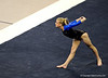 (Casey Brooke Lawson / Gator Country) Senior Corey Hartung competes on floor during the Gators victory over the Oklahoma Sooners in Gainesville, Fla., on January 9, 2009.